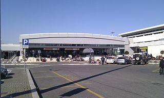 international airport serving Rome, Italy and the Vatican City