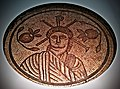 Roman Britain - Image of Christ from Hinton St Mary (central roundel of a 4th century AD mosaic floor) - British Museum.jpg