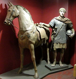 Chivalry - Reconstruction of a Roman cavalryman (eques)