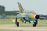 Romania Air force MIG-21 (4880852100).jpg