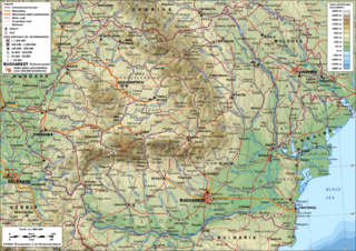 Geography of Romania
