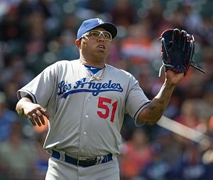 Ronald Belisario - Belisario with the Los Angeles Dodgers in 2013