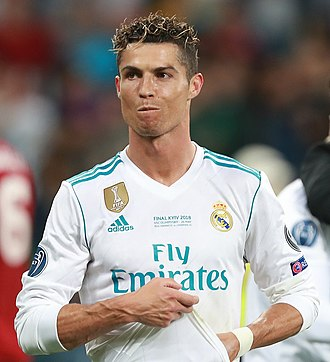 The Best FIFA Football Awards 2018 - Image: Ronaldo in 2018 (cropped)