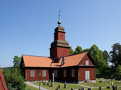 How to get to Roslagskulla Kyrka with public transit - About the place
