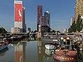 Rotterdam, zicht vanaf Jan Kuitenbrug richting de Wijnhaven foto3 2015-08-02 10.03.jpg
