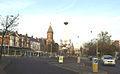 Roundabout at western end of Lord Street - geograph.org.uk - 81343.jpg