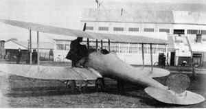 Royal Aircraft Establishment - Royal Aircraft Factory B.S.1 in 1913
