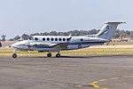Royal Australian Air Force (A32-339) Beech King Air 350 taxiing at Wagga Wagga Airport (1).jpg