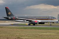 JY-AYS - A320 - Royal Jordanian