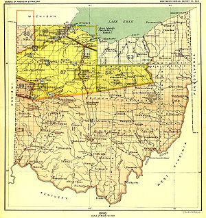 Moravian Indian Grants - Royce labeled the tracts as numbers 4, 5 and 6 in this map