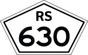 BR-293 - Image: Rs 630 shield