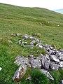 Ruined sheiling - geograph.org.uk - 1392440.jpg