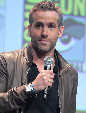 Deadpool (film) - Reynolds promoting the film at the 2015 San Diego Comic-Con