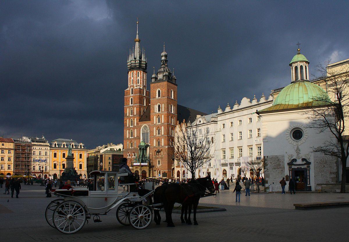 Historisch centrum van Krakau - Wikipedia
