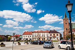 Market Square in Pilzno