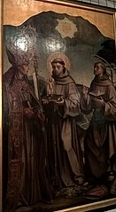 S. Boaventura, S. Antonio and S. Bernardino of Siena