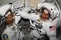 S114E6926 - STS-114 - Noguchi and Robinson in Airlock - DPLA - 6de71a1748bc9fb40ca6189ca4aeff08.jpg