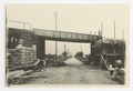 SBB Historic - 110 119 - Strassenunterführung Camorino, Bauarbeiten, Arbeiter.tif