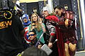 SDCC 2012 - Blair Butler and the Avengers (7561293274).jpg