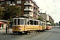 SHS excursion with tram line 14 at Sløjfen 01.jpg