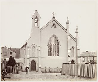 St Barnabas Anglican Church, Broadway - Image: SLNSW 479581 78 St Barnabas s Church SH 712