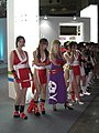 SNK Playmore promotional models at Tokyo Game Show 20070921 4.jpg