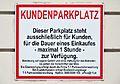 SPAR Hietzinger Hauptstraße 32, client parking place 01.jpg