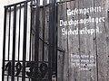 SS Inscriptioon on Gate - Rotunda and Martyrdom Museum - Zamosc - Poland (9218598006).jpg
