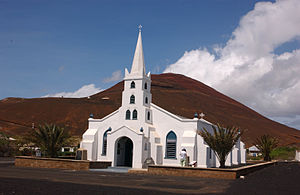 Georgetown, Ascension Island - Image: ST. MARY'S CHURCH ASCENSION ISLAND