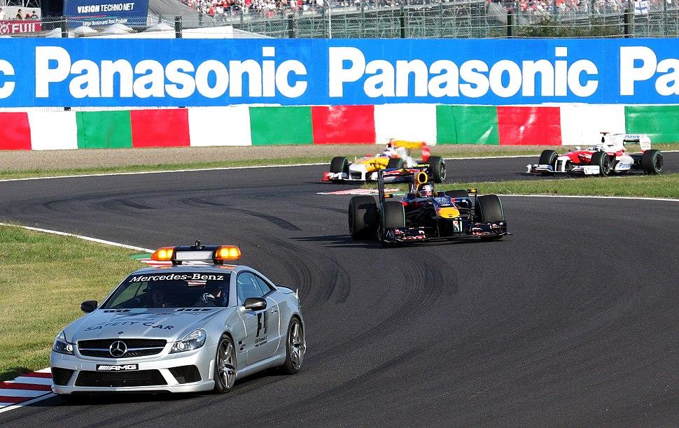 Safety Car with Sebastian Vettel 2009 Japan