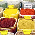 Saffron and other spices at a Turkish market.jpg