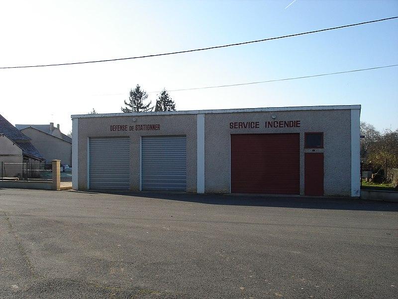 Saint-Août (36): Le centre de première intervention.
