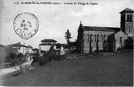 Saint-Sorlin-de-Vienne in 1909