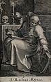Saint Basil the Great. Line engraving. Wellcome V0031688.jpg