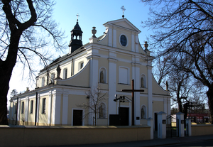 Saint Elisabeth of Hungary Sanctuary in Warsaw-Powsin.PNG
