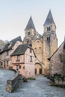 Saint Faith Abbey Church of Conques 08