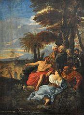 Saint Jean Baptiste prêchant dans le désert