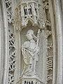 Saintes (17) Cathédrale Saint-Pierre Portail occidental 04.JPG