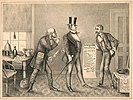 1873 cartoon ridiculing the Salary Grab Act