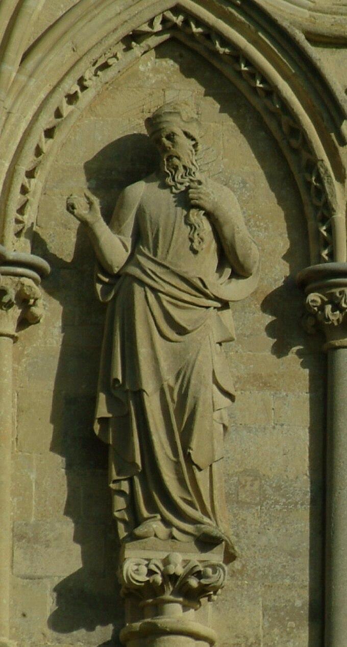 Salisbury Cathedral Samuel