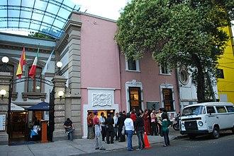 Salón de la Plástica Mexicana - View of the Colonia Roma building