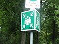 Sammelpunkt Bad Säckingen Waldfriedhof (Schild).JPG