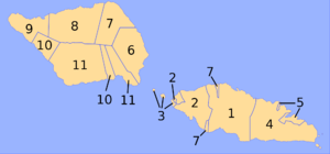 Districts of Samoa - Political Districts of Samoa