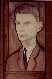 Samuel Beckett by Reginald Gray