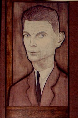Samuel Beckett by Reginald Gray