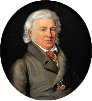 Samuel Thomas von Sömmerring - Portrait by Karl Thelott