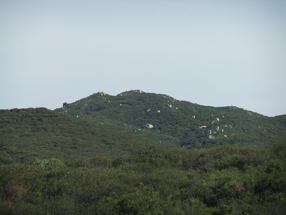 San Mateo Ca >> San Mateo Peak - Wikipedia