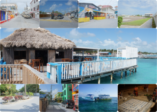 San Pedro Town Town in Belize, Belize