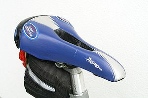 Bicycle saddle - A Selle San Marco saddle for women