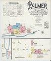Sanborn Fire Insurance Map from Palmer, Hampden County, Massachusetts. LOC sanborn03821 002-1.jpg